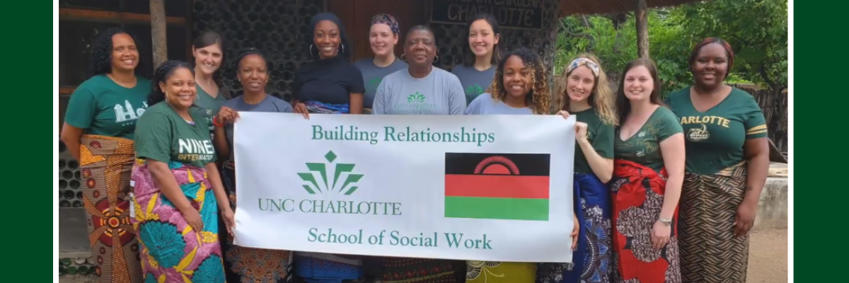 Students in Malawi 2020 for